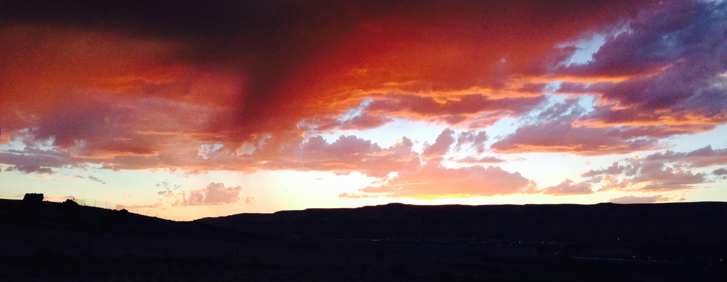 Rock Springs Sunset